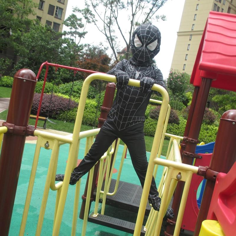 ΝΕΟ Μαύρο Spiderman Αγόρια Venom Κοστούμια - Καρναβάλι κοστούμια - Φωτογραφία 4