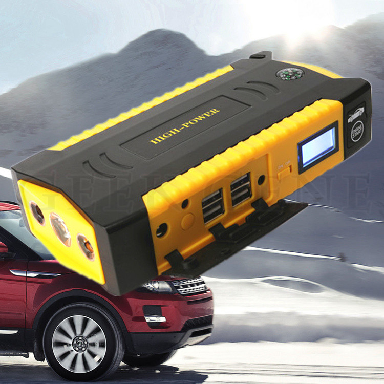 New 69800mAh Car jump starter Great discharge rate Diesel Auto power bank for car Motor vehicle