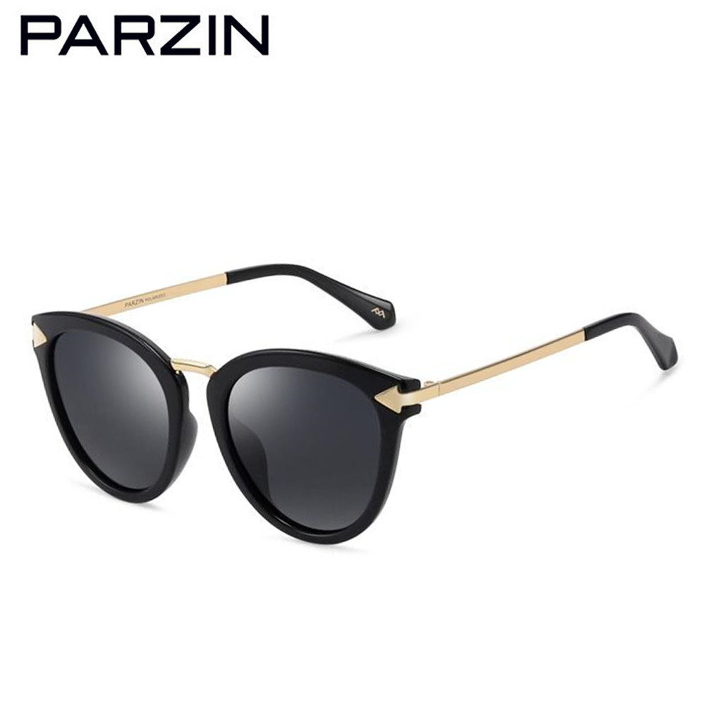 6d7531308d5 Parzin Polarized Sunglasses Vintage Colorful Sunglasses Women Retro Ladies  Sun Glasses Shades Driving Glasses With Case 9876 -in Sunglasses from  Apparel ...