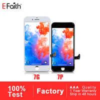 Efaith 10 PCS Display oder LCD für iPhone 7 oder für iPhone 7 Plus Mit Touchscreen Digitizer Ersatz Montage freies DHL