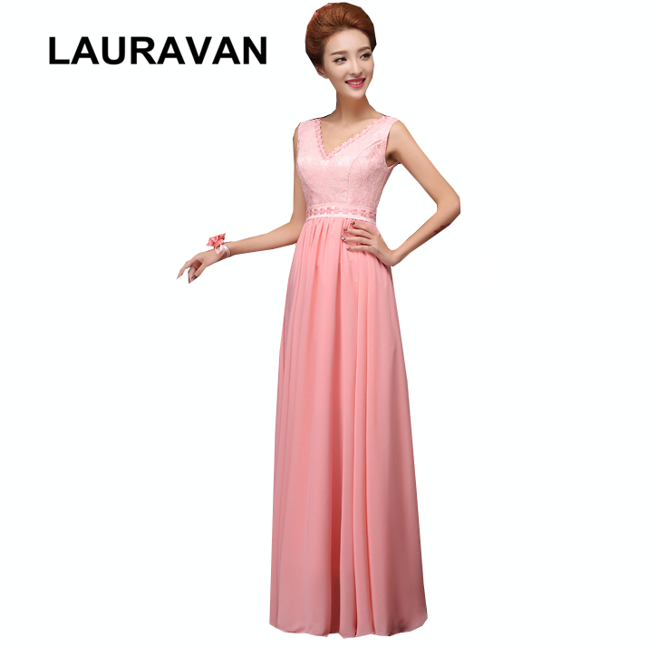 watermelon color   bridesmaid   chiffon long bridesmaides   dresses   2018 plus size party   dress   6 styles a line gown free shipping