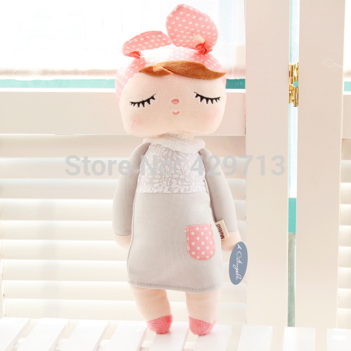 angela original Gifts high quality Sweet Cute Angela rabbit doll Metoo baby plush doll for kids