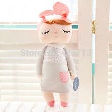 Анжела Оригинальные подарки высокого качества милые Ангел кролик куклы Metoo Детская плюшевая кукла для детей panda бабочка пчела poupee куклы