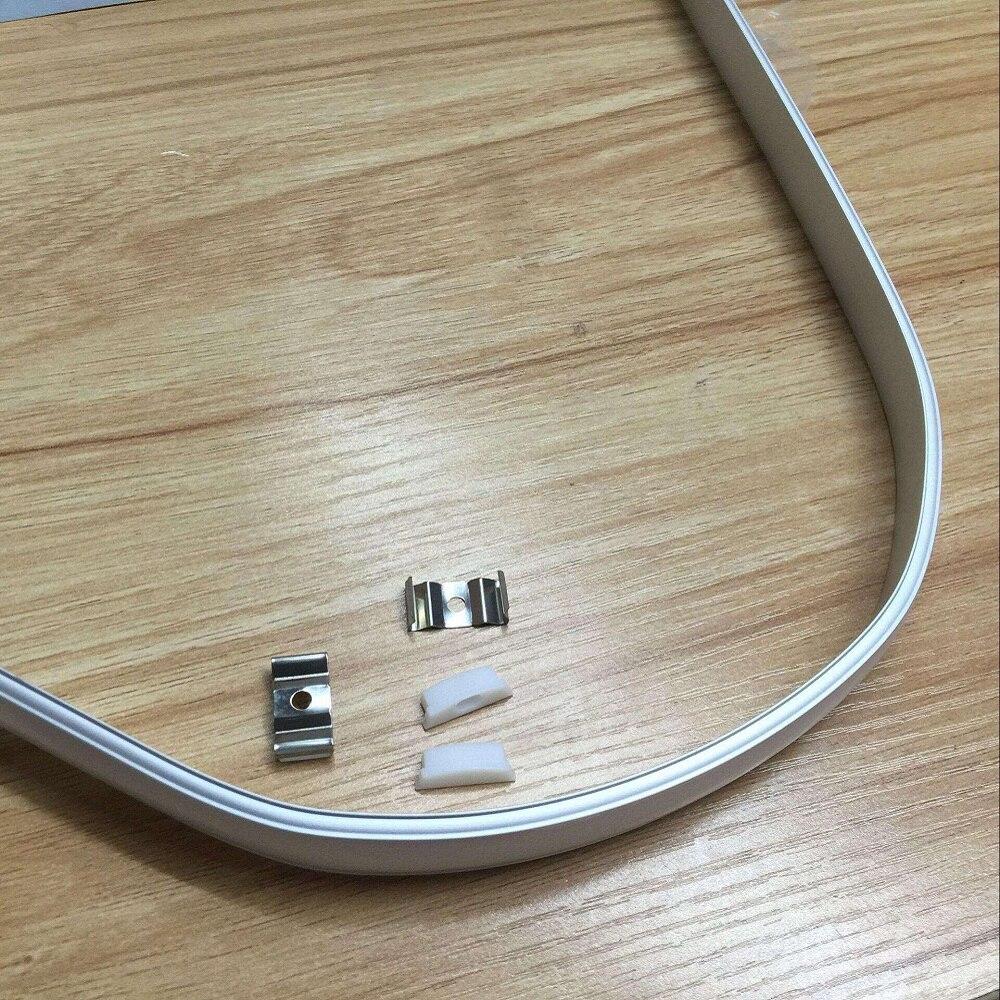 2000 mm/set 、 20 メートルに 100 メートル/パック、屈曲可能なフレキシブル Led アルミチャンネル、屈曲可能な led アルミプロファイル SDW021  グループ上の ライト & 照明 からの LED バーライト の中 1