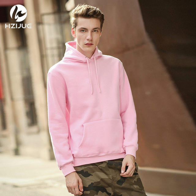 1b69d41e227c1 HZIJUE худи размера XXL 2018 уличная хип хоп хаки черный, серый цвет розовый  белый с
