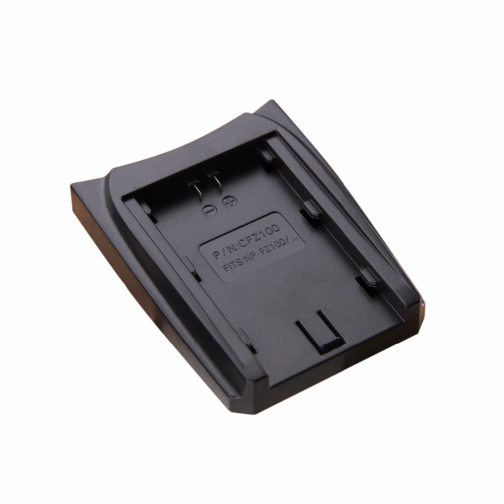 ICV FZ100 NP-FZ100 Battery Charger Plate For Sony NP-FZ100, BC-QZ1, Sony a9, a7R III, a7 III, ILCE-9