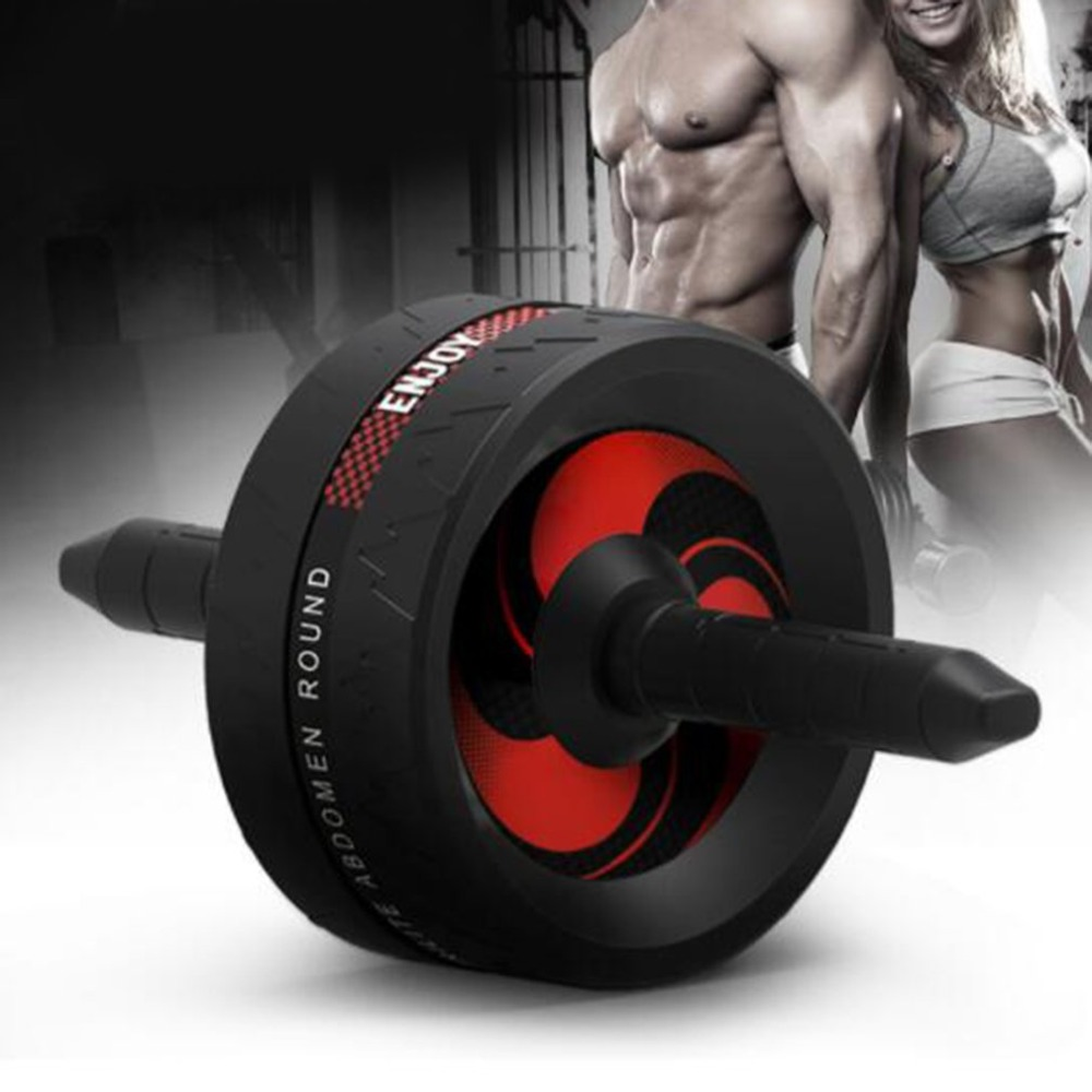 Ab Roller Wheel Big Exercise Fitness Wheel for Core Strength Training Abdominal Workout Easy Grip Handles with Knee MatAb Roller Wheel Big Exercise Fitness Wheel for Core Strength Training Abdominal Workout Easy Grip Handles with Knee Mat