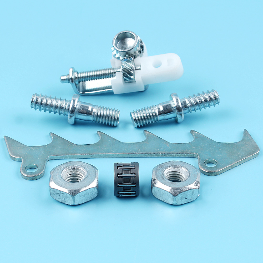 Chain Adjutser Screw Bar Stud Nuts Spike Dog Needle Cage For STIHL MS250 MS230 MS210 021 023 025 Chiansaw