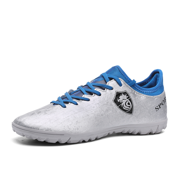 b3474ab61 Ibuller Men Soccer Shoes With Socks Indoor Futsal Shoes for Boys Kids  Football Boots Child Athletic Training Sneakers 33-44 S135
