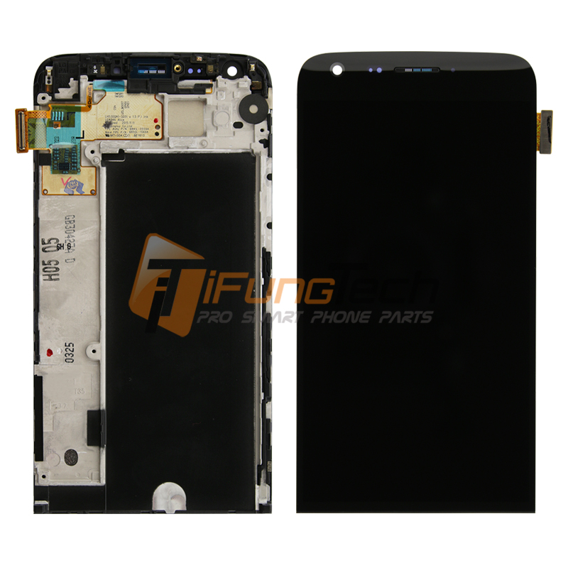цены  For LG G5 H850 LCD Display with Touch Screen Digitizer Assembly With Frame Black replacement Free Shipping+tracking NO.