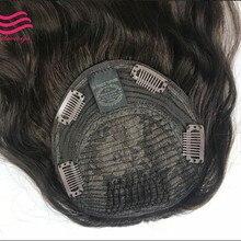 Лучшие европейские девственные волосы Кошерные kippah падение(машина) не парик, необработанные еврейские волосы kippah Осень