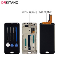 Meizu M2 Note LCD Display With Touch Screen Digitizer Assembly With Frame Replacement 1920X1080 For 5