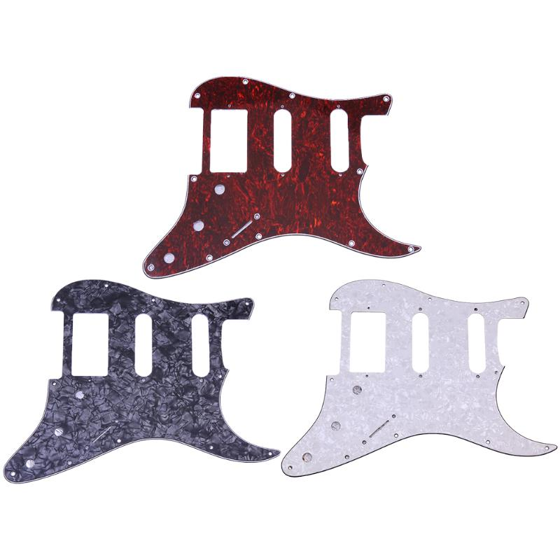 3 PLY Electric Guitar PVC Pickguard for Fender Strat Electric Guitar Pickguard Scratch Plate High Quality Guitar Accessory New