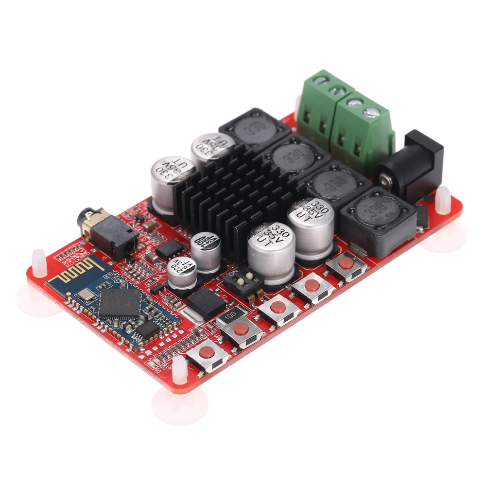 TDA7492 BT inalámbrico amplificador de potencia bordo 4,0 50 W + 50 W 2 receptor de Audio multicanal potencia estéreo Digital módulo amplificador