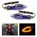 2 шт. Мотоциклов 12 LED Поворотов Индикаторы Мигалки Желтый Свет, Пригодный Для Honda Yamaha Suzuki Kawasaki Ducati KTM BMW триумф
