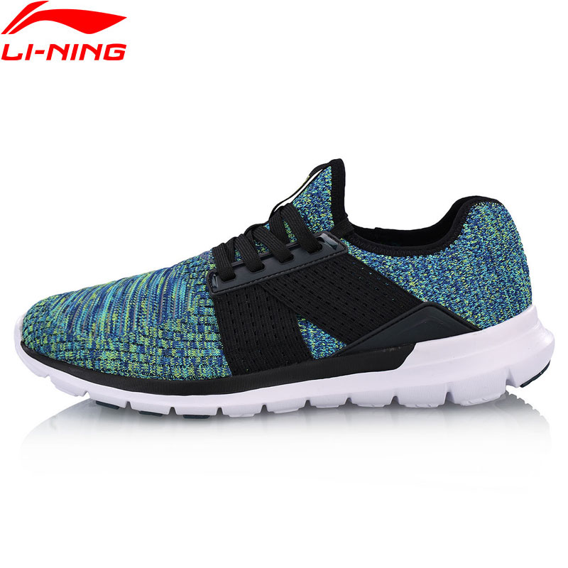 Li Ning Men FLEX RUN V2 Light Weight Running Shoes Footwear LiNing Wearable Sports Shoes Breathable