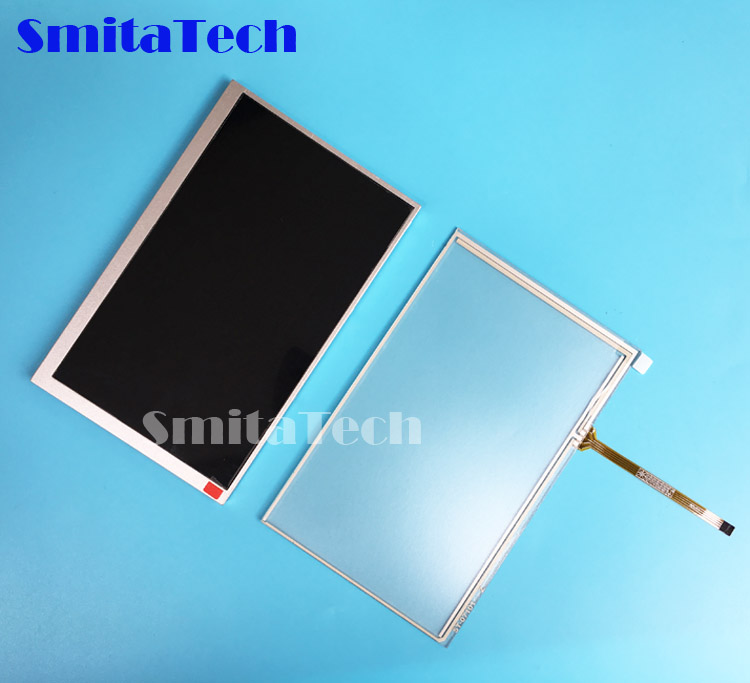 7.0 inch tft lcd screen <font><b>AT070TN83</b></font> <font><b>V</b></font>.<font><b>1</b></font> <font><b>AT070TN83</b></font> V1 Display Panel touch screen panel image