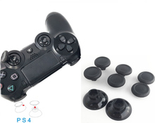 8pcs Enhanced Durable Removable Thumbsticks Thumb Stick Joystick Caps Covers Custom Grips for Sony PS4 SLIM PS4 Pro Controller