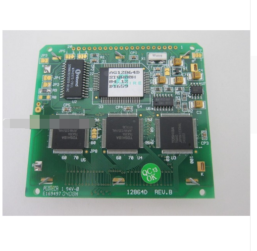 For Replacement LCD Screen Display Panel Module for AG12864DFor Replacement LCD Screen Display Panel Module for AG12864D