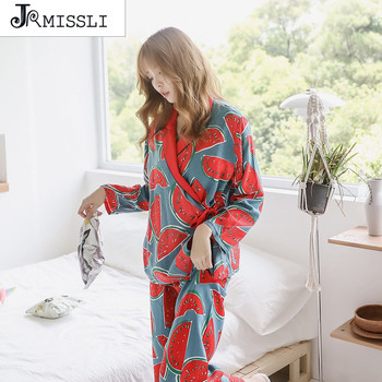 Watermelon Cotton Sleepwear Two Paper Suit Pyjamas