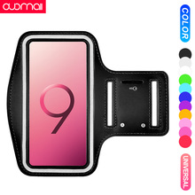 Universal running ArmBand for Samsung Galaxy S10 S9 Plus 8 Sports arm bag phone Case outdoor Cycling Workout running yoga strap цены онлайн