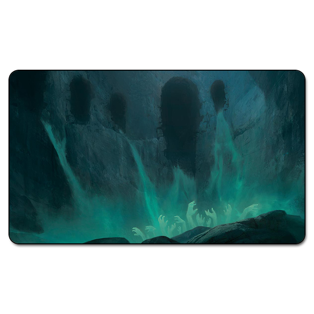 Many Choice Magic Card Games Custom Playmat MGT CAVERN OF SOULS Playmat, Board Games Ultra. Table Pad Pro with Free Bag image