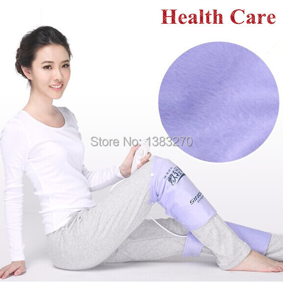 A pair heated mat heating pad electric heat pad foot body warmer leg hot pack therapy knee pain