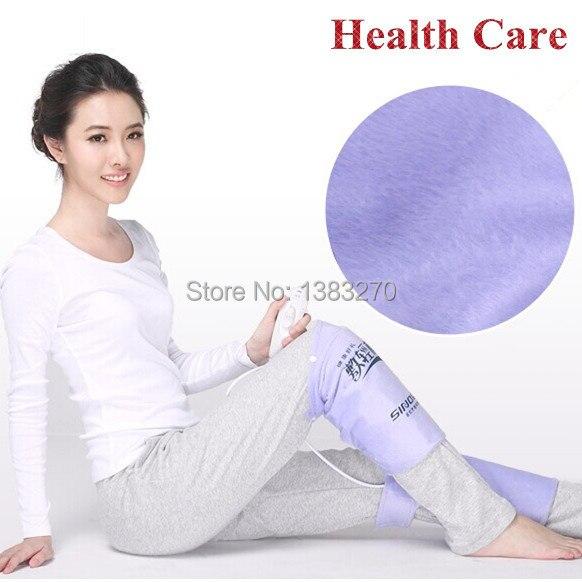 Un par de alfombrillas calefactoras con almohadilla de calor eléctrica para el cuerpo del pie calentador de piernas terapia caliente dolor de rodilla