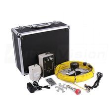 7D1 50M Sewer Waterproof Video Camera 7″ LCD Screen Drain Pipe Inspection DVR 12 Led W/ 4500MAh Battery