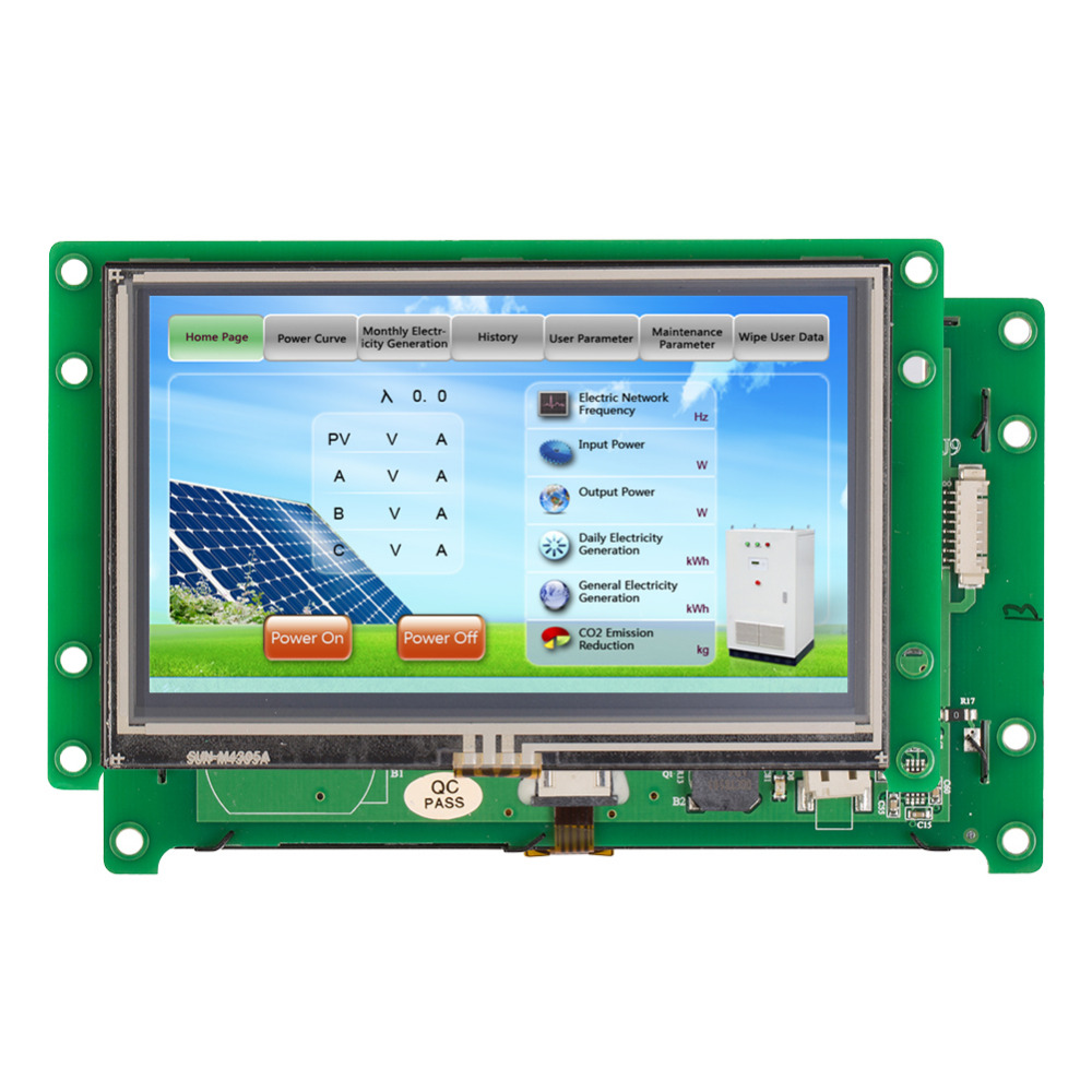 Smart 4.3 TFT LCD Monitor With Uart PortSmart 4.3 TFT LCD Monitor With Uart Port