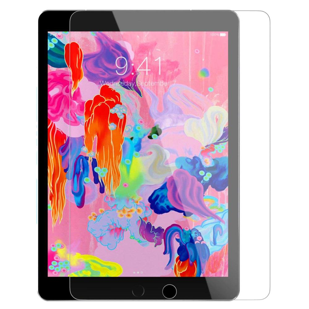 Tempered Glass Film Screen Protector For IPad 2018 2017 5th 6th Generation 5 6 Air 1 2 9.7 Pro 10.5 11 Mini 1 2 3 4 5 10.2 2019