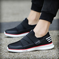2017 Fashion Low top Men's Casual Shoes Slip-on Loafers Flat mens trainers tenis crossfit Shoes Comfortable Walking L120786