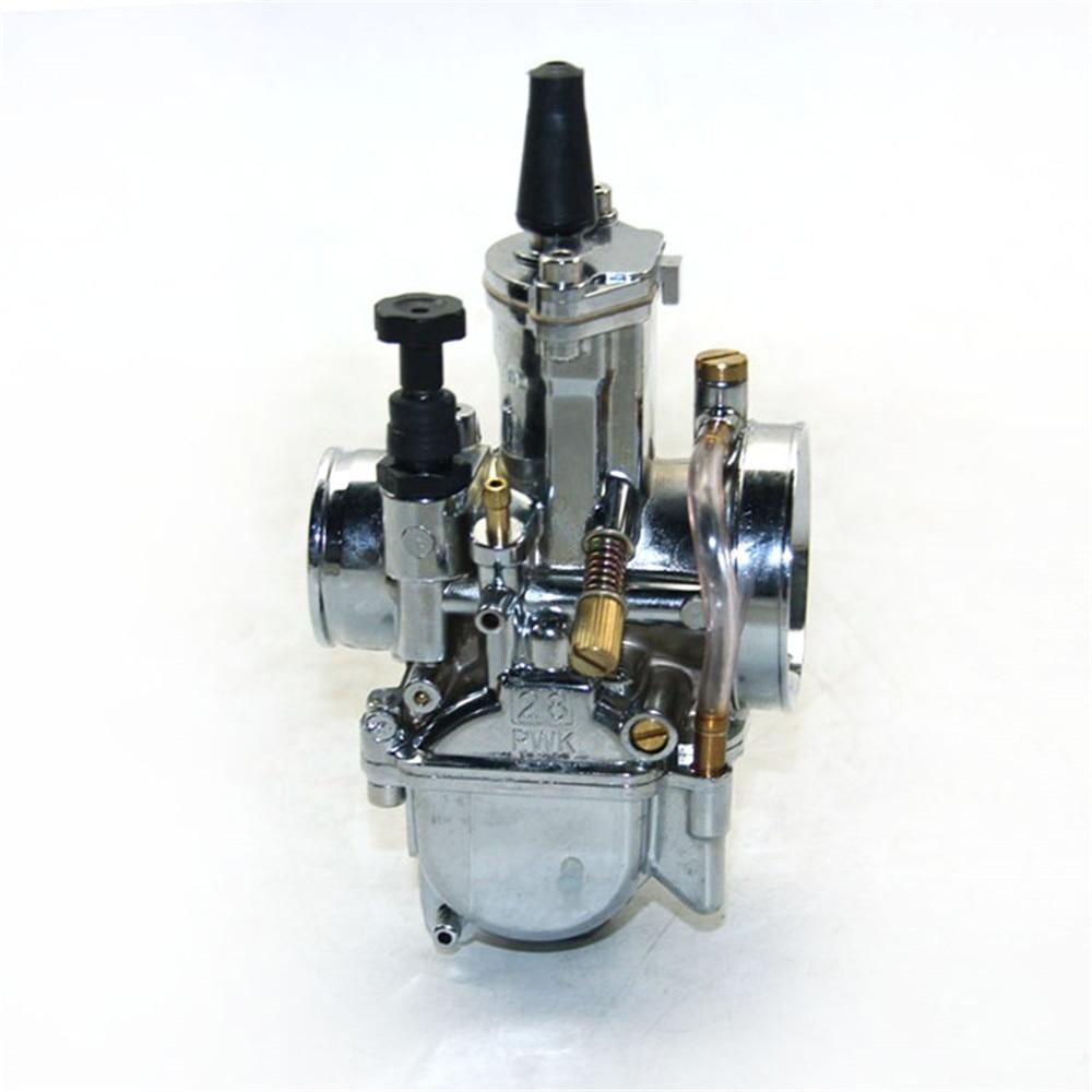 Envío gratis ZSDTRP 28 30 32 34mm color plateado modelo Pwk - Accesorios y repuestos para motocicletas - foto 2
