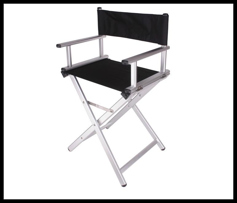 Amazing Silver Makeup Chair Portable Makeup Chair Chair Folding Aluminum Director  Chair.