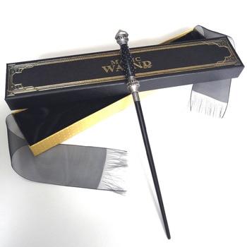цена на New Metal Core Narcissa Malfoy Magic Wand/ HP Magical Wand/ High Quality Gift Box Packing Free Train Ticket
