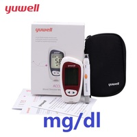 yuwell Blood Glucose Meter Unit mg/dl With 100pcs Glucose Blood Test Strips Medical Goods Diabetes Glucometer Accuracy 710 CE