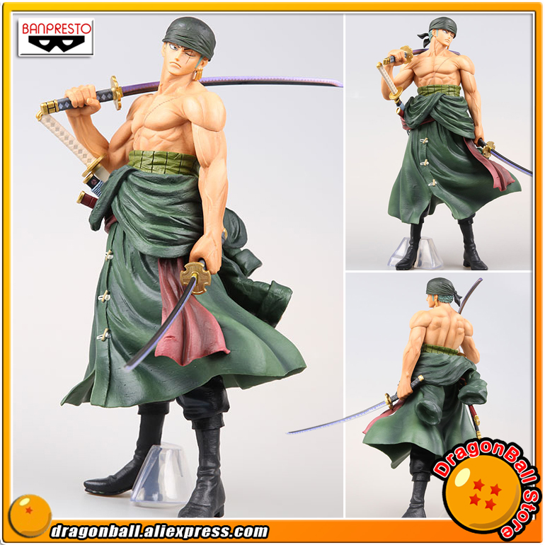 Japan Anime ONE PIECE Original Banpresto MEMORY FIGURE Collection Figure - Roronoa Zoro japan anime one piece original banpresto world figure colosseum bwfc zoukeiou vol 1 collection figure zoro