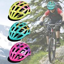 28 Vents Colorful Bicycle Helmets Matte Men Women Bike Helmet Back Light Mountain Road Integrally Molded Cycling