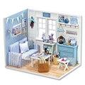 Кукольный Дом Мебель Diy Миниатюрный Пылезащитный Чехол 3D Деревянные Miniaturas Dollhouse Игрушки на Рождество-H016