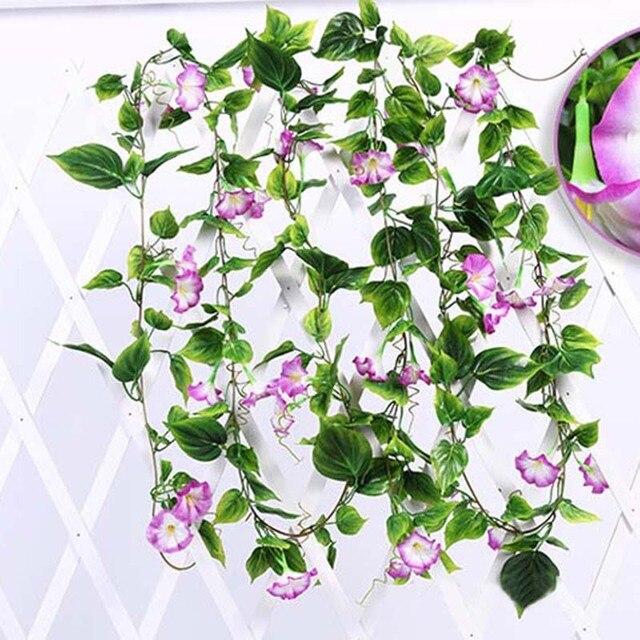 Wedding Decor Flower Daffodil Artificial Silk Vine Flower Garland