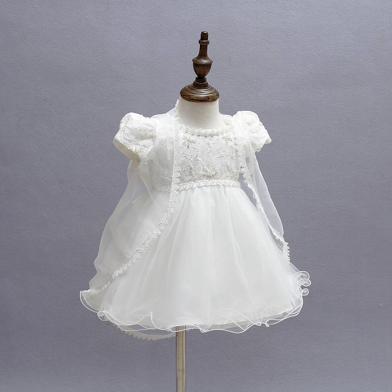 Vestido de bautizo para niñas pequeñas Disfraces de navidad para - Ropa de bebé - foto 2