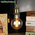 Edison lâmpada G95 LEVOU lâmpada globo do vintage macio LED filament Âmbar 110 V-220 V 4 W pingente lâmpada lâmpada de iluminação comercial