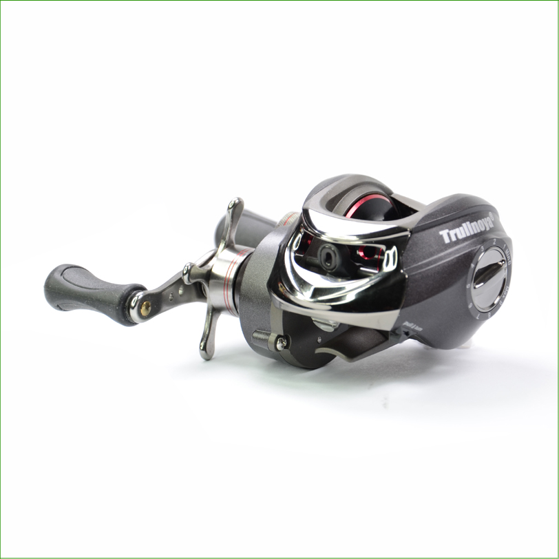 TR120-R Baitcasting Reel 11 Ball Bearings Double Brake System Right Hand Water Drop Wheel Bait Casting Fishing Reel Lure Reel
