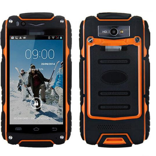 24 Hours Shipping Original Guophone V8 Dustproof Phone 4 0 3G Outdoor Smartphone Android 4