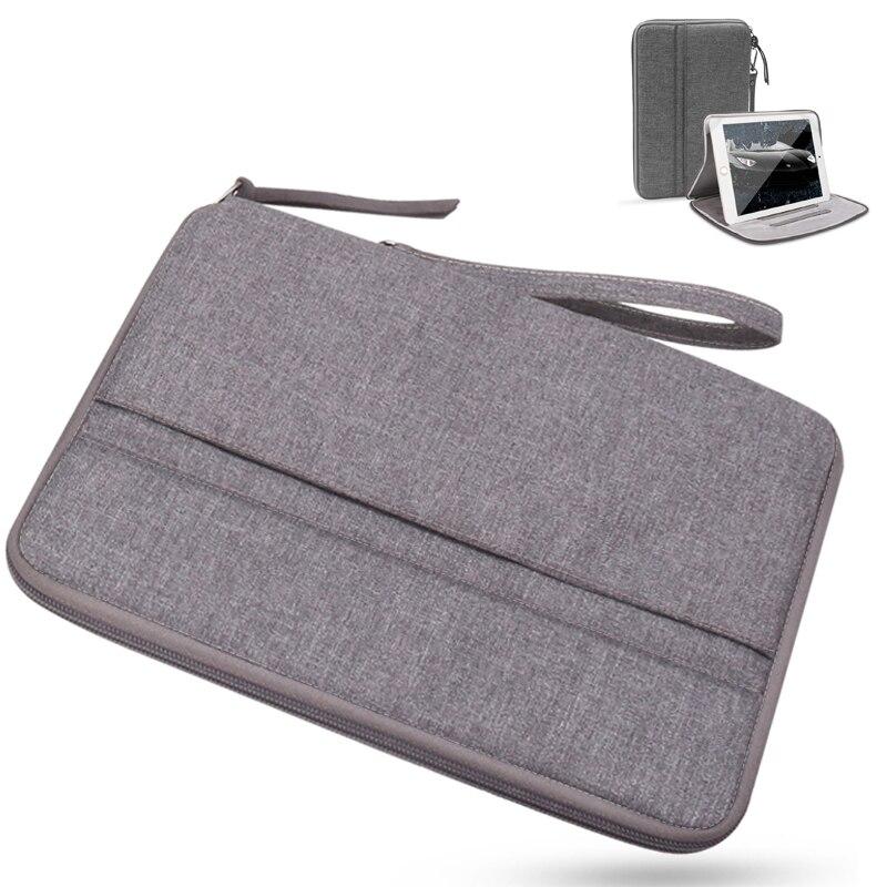 Para Samsung Tab 10.1 Caso Zipper T580 T510 Universal Alça de Tecido À Prova D' Água Caso Saco para Samsung T820 T830 T720 Tablet cobrir