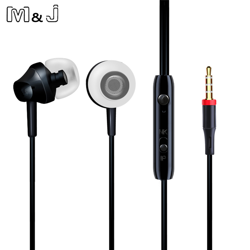 M&J Portable Mini Estéreo Bajo Auricular para iPhone 5 6 Samsung - Audio y video portátil