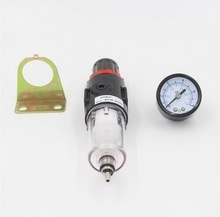 AFR-2000 Air Filter Regulator Compressor & Pressure reducing valve & Oil water separation+ Gauge Outfit, K018