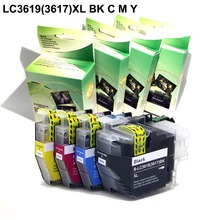 (Dye ink) Compatible ink cartridge LC3619 LC3619XL (LC3617) for Brother MFC-J2330DW MFC-J2730DW printer