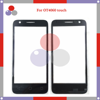10pcs Lot High Quality For Alcatel One Touch 4060 OT4060 4060A Touch Panel Glass Front Glass