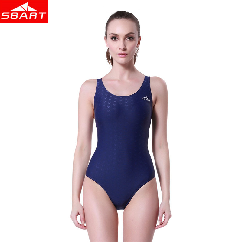 SBART Womens One-Piece Body Suits Swimwear Sleeveless Cross Back Swimsuit Shark Skin Swimming Rafting Watersport One-Piece Suit